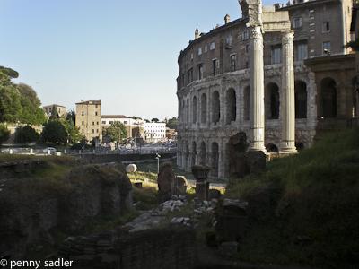 Teatro Marcello, Rome @PennySadler 2009-2014