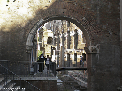 Jewish ghetto Rome @PennySadler 2013