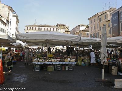 Campo dei Fiori Rome @PennySadler 2009-2014