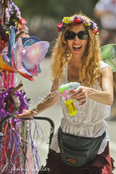 Fiesta Santa Barbara fairy woman @PennySadler 2012