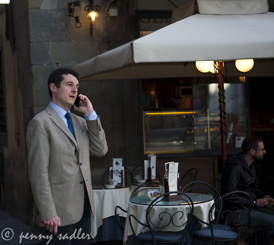 Cell phones italian style @PennySadler 2012