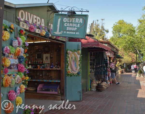 ©pennysadler 2012.Olvera Street, Los Angeles.
