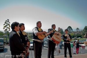 Mariachi band, Santa Barbara @PennySadler 2013