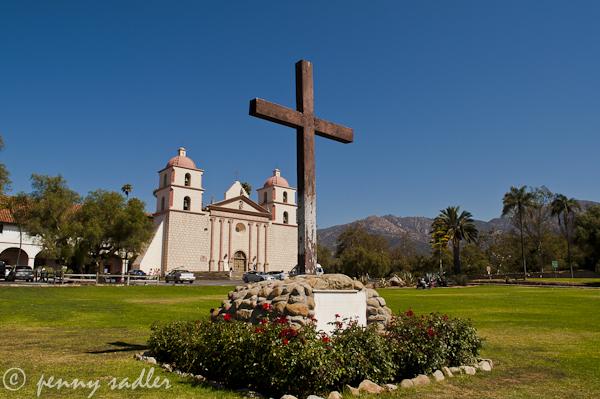 Mission Santa Barbara @PennySadler