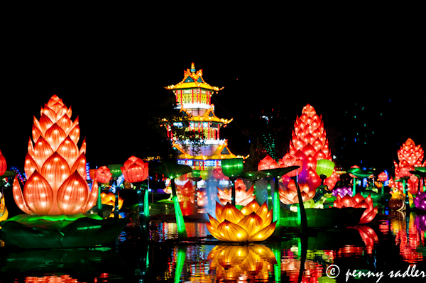 chinese Lanterns at the State fair of Texas @PennySadler 2012