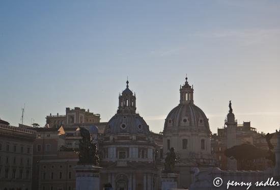Roman Holiday Piazza Venezia ©pennysadler 2012