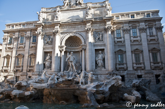 The Trevi Fountain, Rome, Italy ©pennysadler 2012