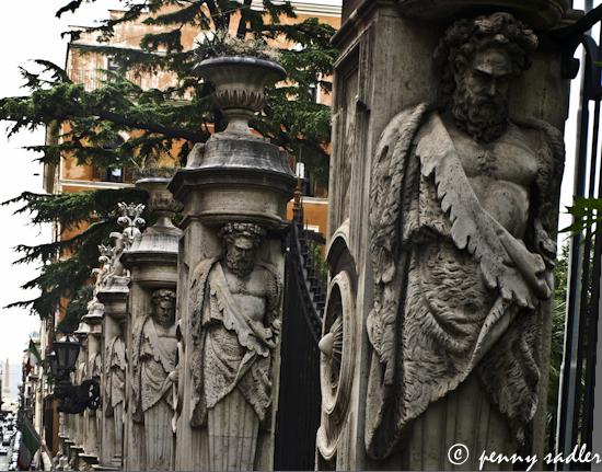 Palazzo Barbarini Roman Holiday ©pennysadler 2012