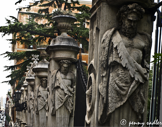 Palazzo Barbarini Rome, Italy ©pennysadler 2012
