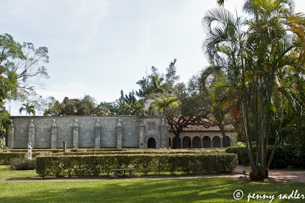 The Cloisters of the Ancient Spanish Monastery and St. Bernard de Clairvaux, Miami, Florida, ©pennysadler 2013
