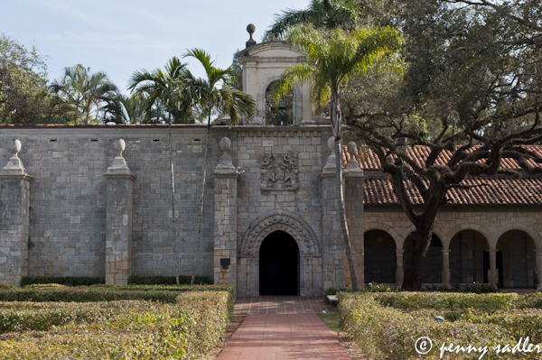 Ancient Spanish Monastery Miami Florida ©pennysadler 2013