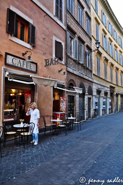 How far would you travel for coffee Rome Italy ©pennysadler2013