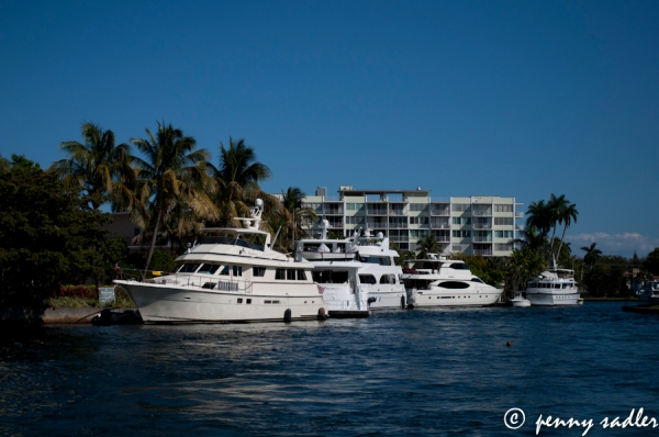 Ft. Lauderdale intracoastal ©pennysadler 2013