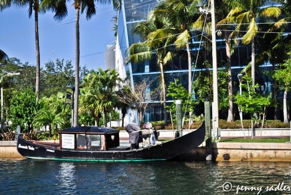 Gondola Ft. Lauderdale ©pennysadler 2013