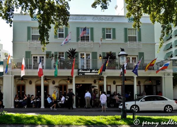 Riverside Hotel Las Olas Blvd. Ft. Lauderdale, ©pennysadler 2013