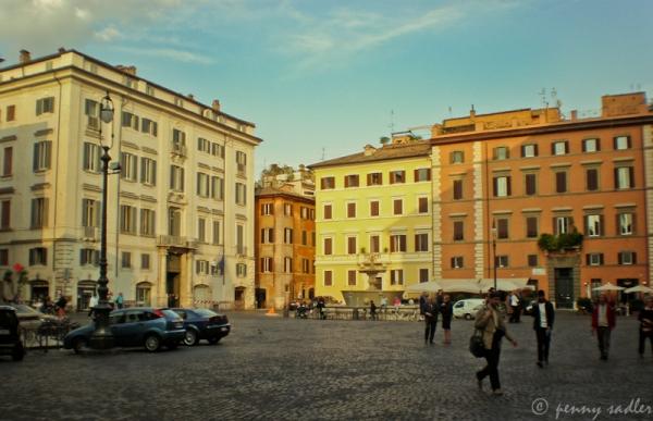 Piazza Farnese @PennySadler 2013