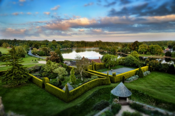 Phillip Glickman Photography aerial view of Beaulieu