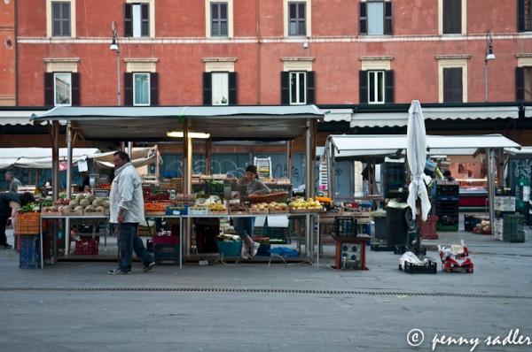 San Cosimato, Trastevere @PennySadler 2013