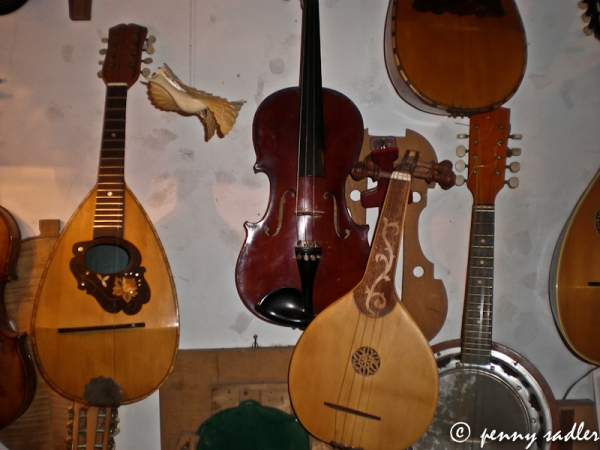 Mohsan Kosarasafir's shop in Trastevere, @PennySadler 2013