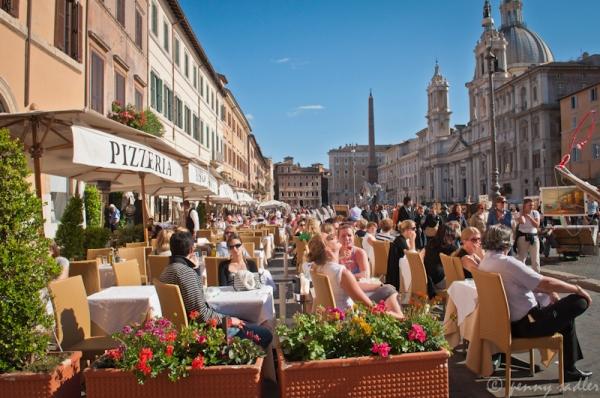 Piazza Navona Rome Italy @PennySadler 2013