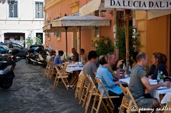 @PennySadler 2013 Da Lucia Rome, Italy