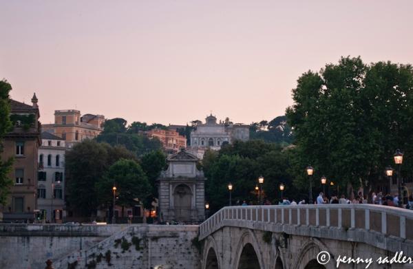 @PennySadler 2013 Ponte Sisto Bridge