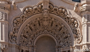 @PennySadler 2013 Detail of the facade on the Million Dollar Theater