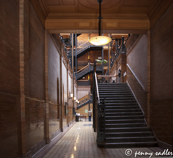 The Bradbury Building, Los Angeles, @PennySadler 2013