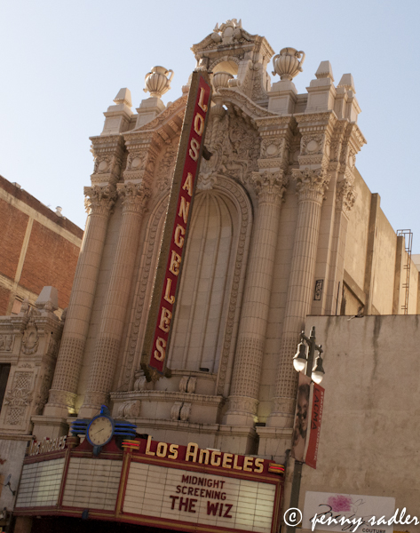 The Los Angeles Theater, LA. California @PennySadler 2013