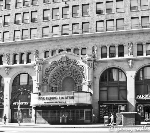 The Million Dollar Theater, Broadway St. Los Angeles, Ca. @PennySadler 2013