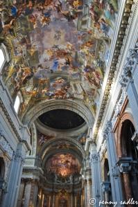 Ceiling of St. Ignazio by Andrea Pozzo