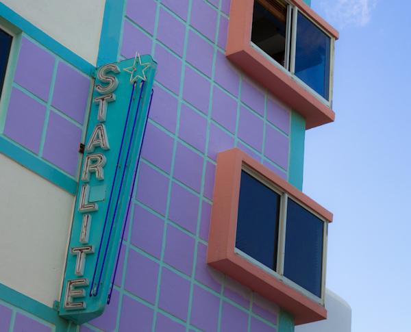 The Starlite Hotel, Collins Ave., SB, Miami @PennySadler 2013