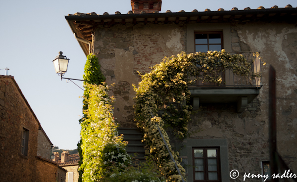 Tuscan country house, Chianti, Italy. @PennySadler 2013