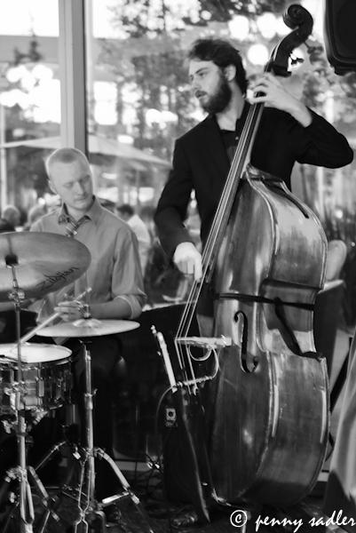 Adam Nyugen Quintet at Cafe des Artistes @PennySadler 2103