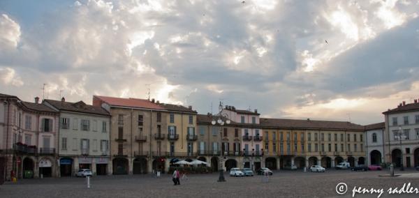 Piazza del Duomo, Voghera, Italy @PennySadler 2013