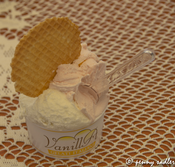 Vanilla Gelato, Milan Italy &#64:PennySadler 2013