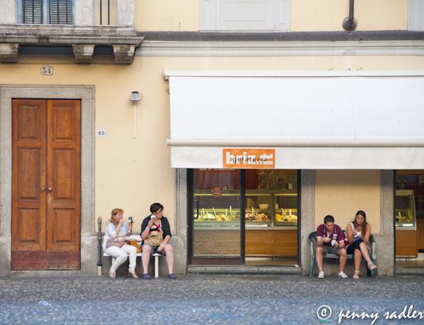 Britz gelateria, Voghera, Italy @PennySadler 2013